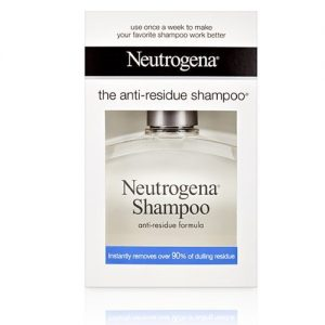 Sampooing anti-residue neutrogena